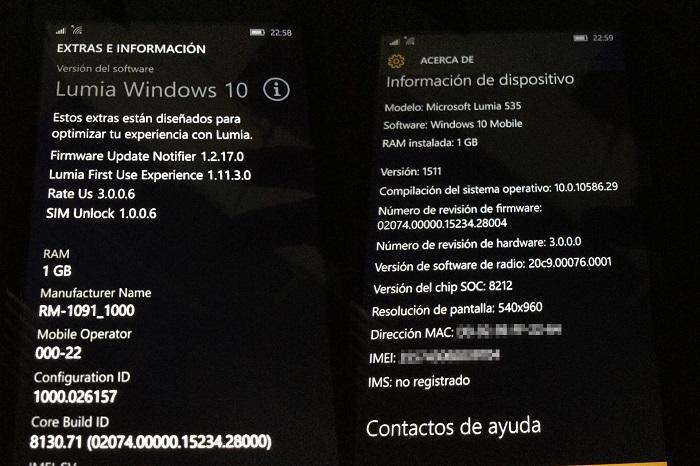 lumia 535 actualizacion windows 10 mobile latinoamerica