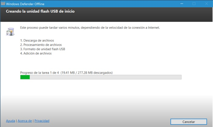 windows defender offline proceso