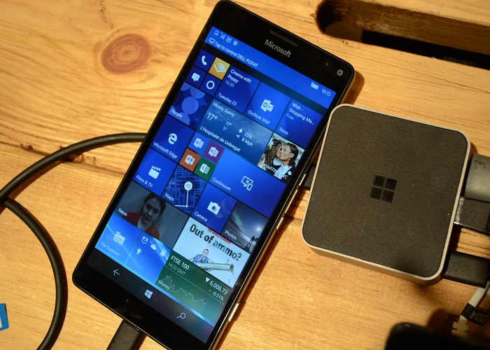 Continuum Lumia 950 XL 2