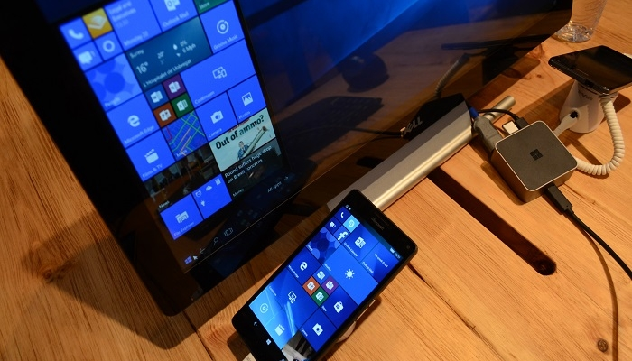 Continuum Lumia 950 XL