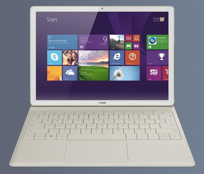 Huawei MateBook de frente