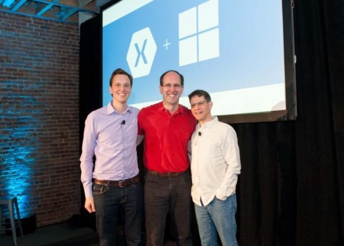 Xiamarin y Microsoft