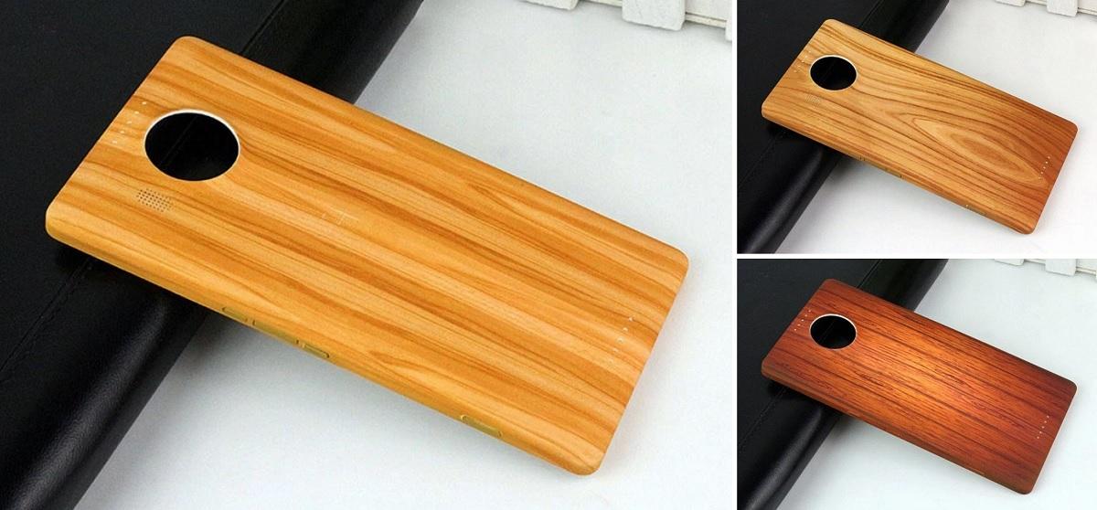 wood-case Lumia 950 Lumia 950 XL
