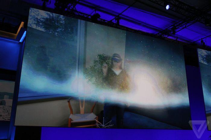 Build 2016 HoloLens galaxy explorer