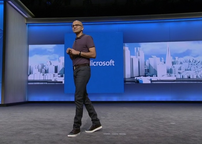 Build 2016 Satya Nadella