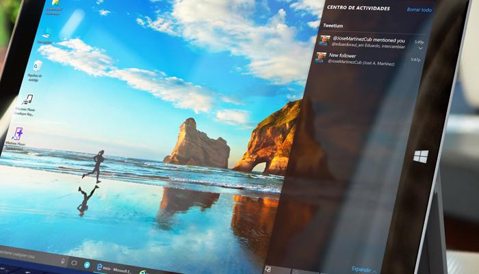 Centro de Acción Windows 10