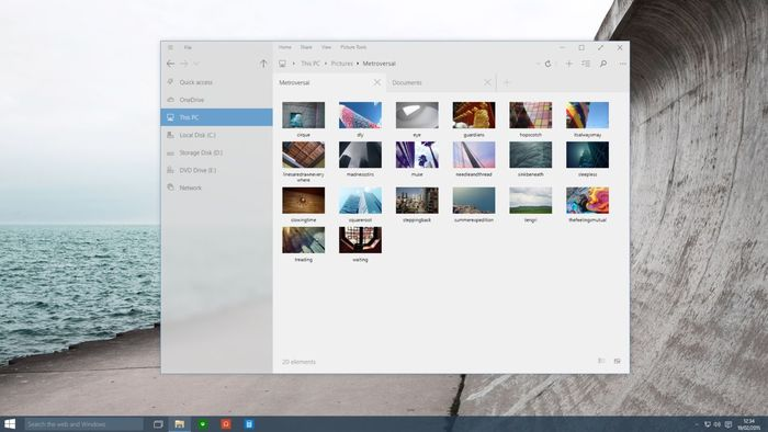 Explorador archivos windows 10
