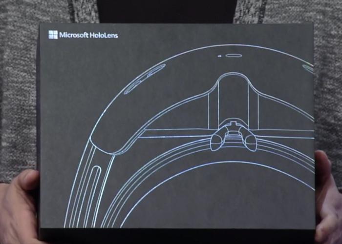 HoloLens caja