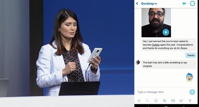 Skype build 2016 chat