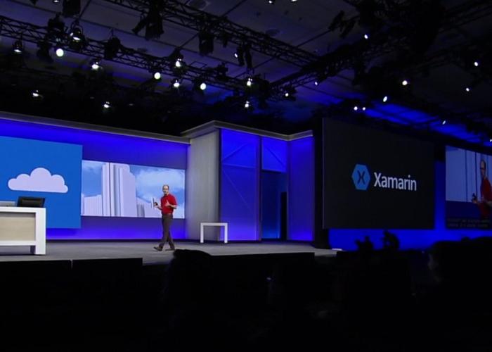 Xamarin durante la Build 2016