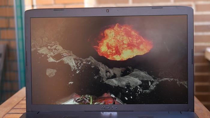 ASUS ROG GL752VW pantalla