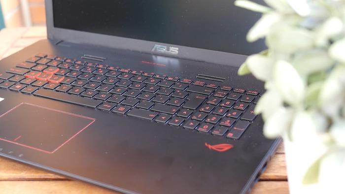 ASUS ROG GL752VW teclado