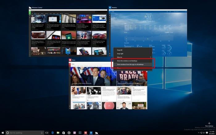 Escritorio virtual windows 10