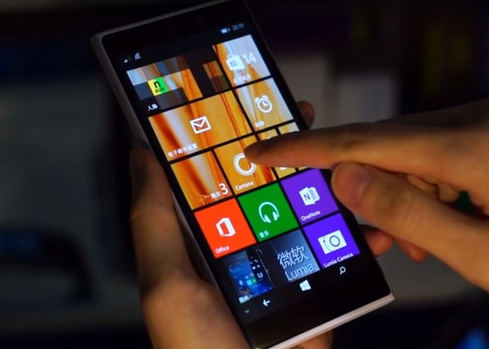 Lumia 935 Touch 3D