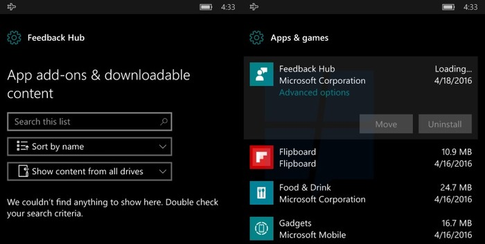 Mejoras notificaciones Windows 10 Mobile Redstone