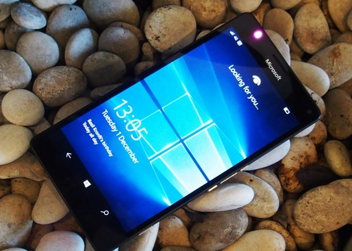 Pantalla bloqueo Windows 10 Mobile
