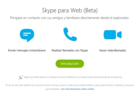Skype para Web
