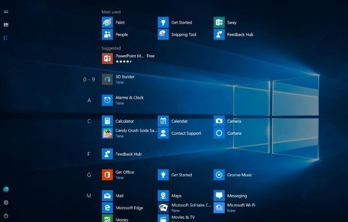 Windows 10 todas las aplicaciones 2