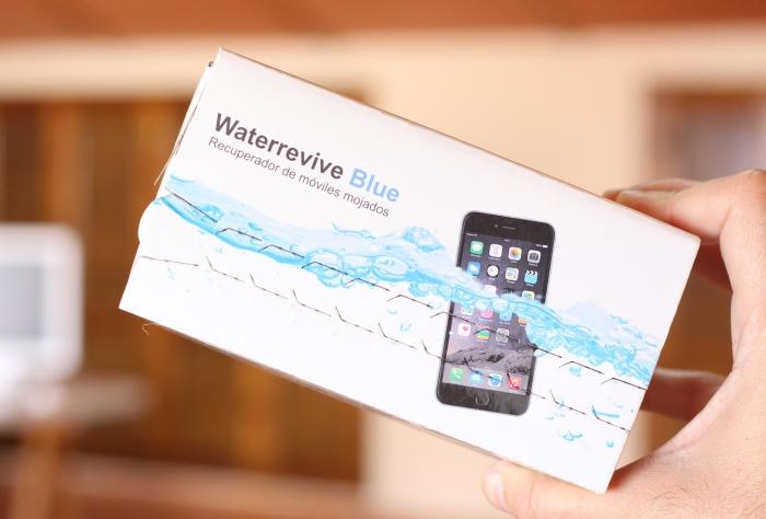 Caja Waterrevive Blue