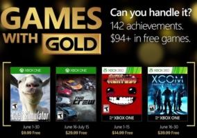 Juegos con Gold junio 2016