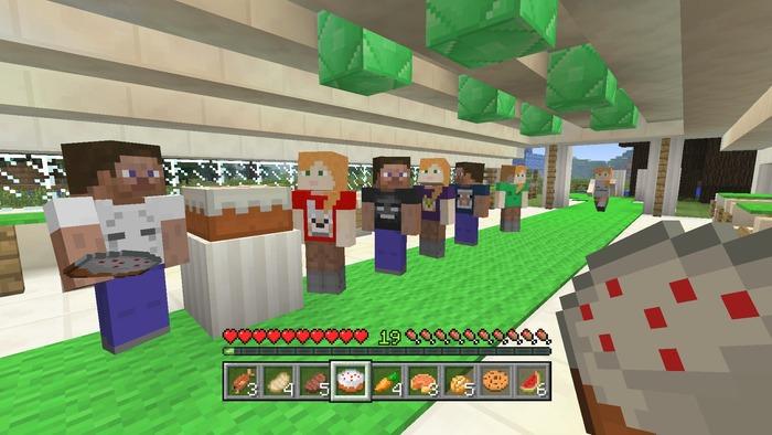 Minecraft 4 aniversario xbox 360