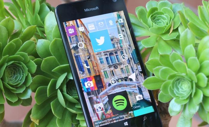 Pantalla Lumia 650