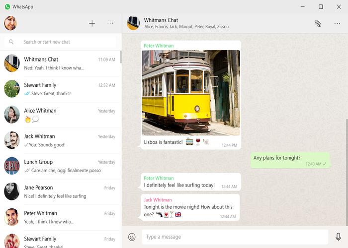 WhatsApp nativa Windows
