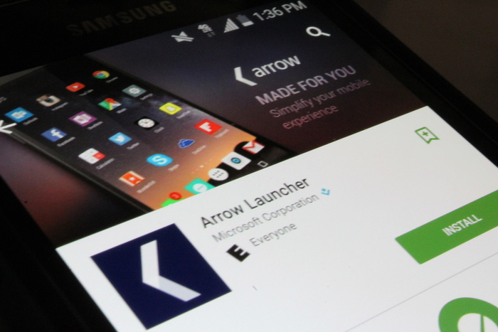 Arrow Launcher Google Play