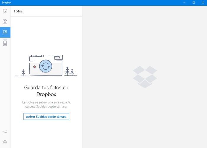 Dropbox captura windows 10 cabecera