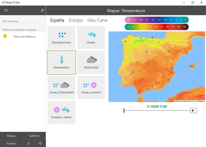 El Tiempo 14 Días Toda La Información Meteorológica En Tu