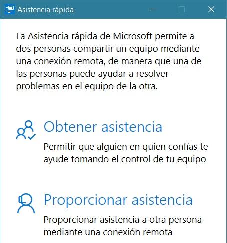 asistencia rapida windows 10 anniversary update
