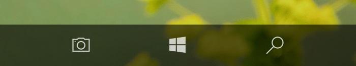boton camara windows 10 mobile anniversary update