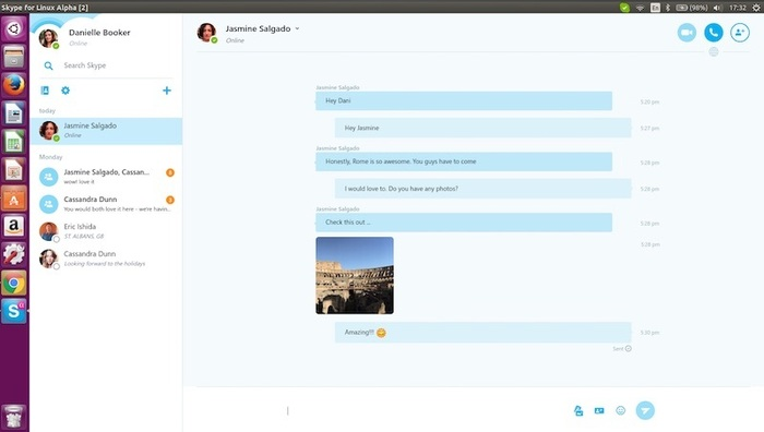 skype alpha linux