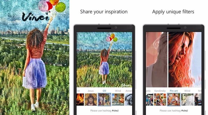 Vinci Windows 10 Mobile capturas
