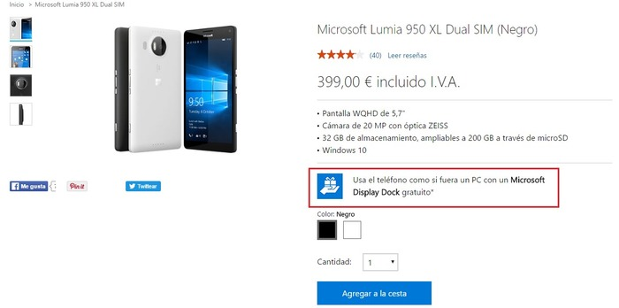 lumia-950-xl-dock-gratis