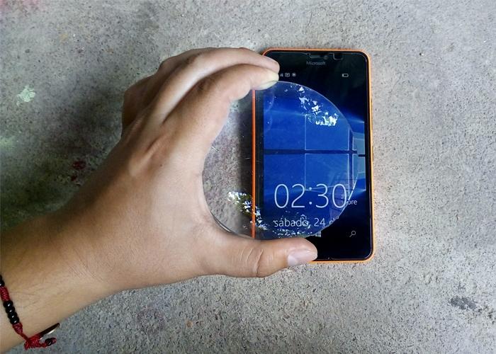 Lumia 640 XL y Lupa
