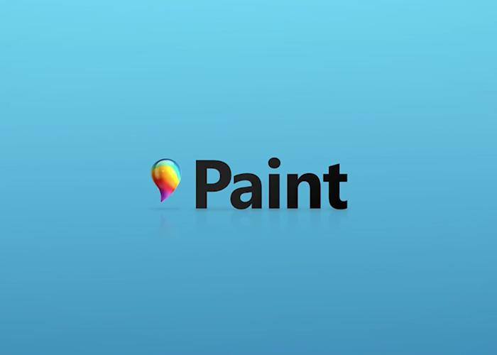 Logo de Paint 3D
