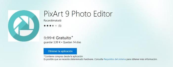 pixart-9-photo-editor-gratis-tiempo-limitado