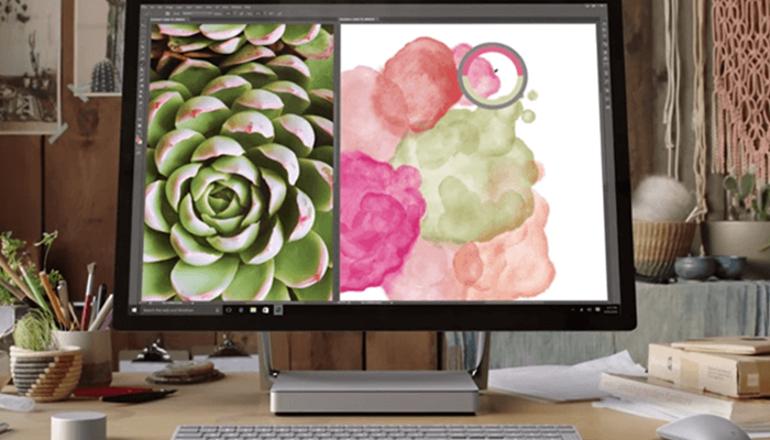 Imagen promocional del Surface Studio