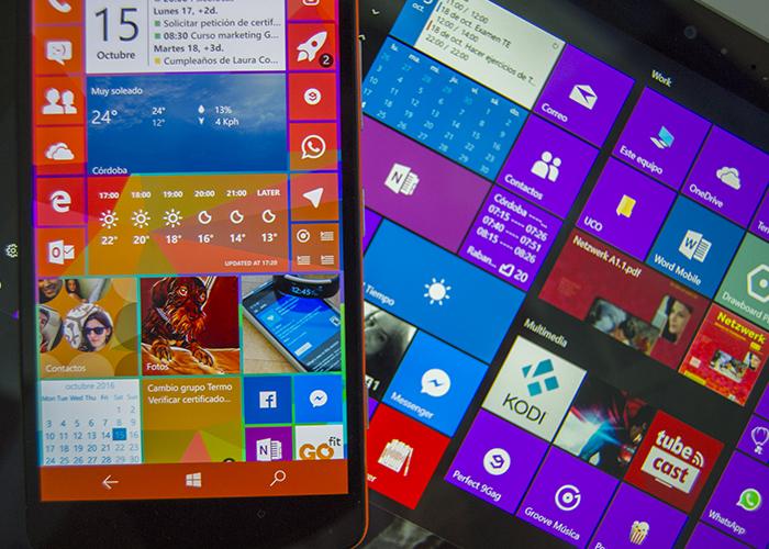 Lumia y Surface con Windows 10