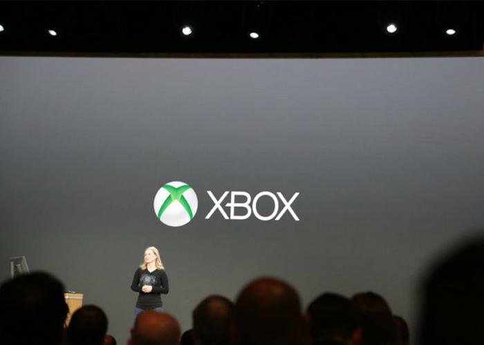 Presentación de contenido sobre Xbox