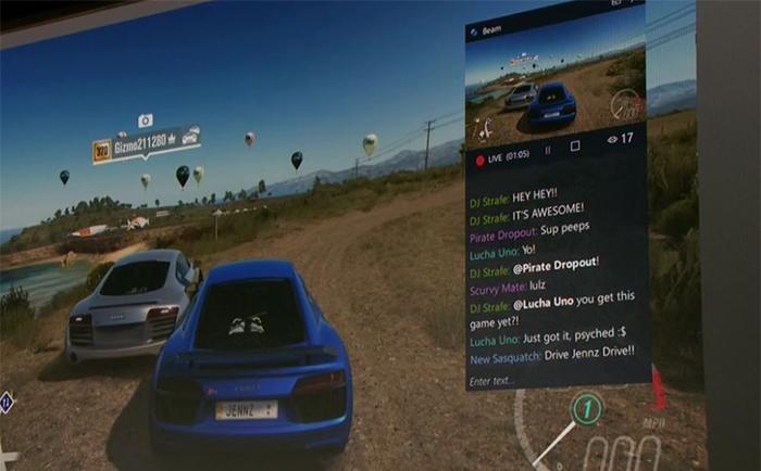 Streaming en directo de Forza Horizon 3 con Beam