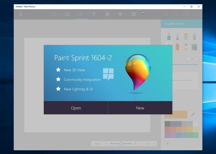 Microsoft's new paint app includes 3d drawing | tecmental.