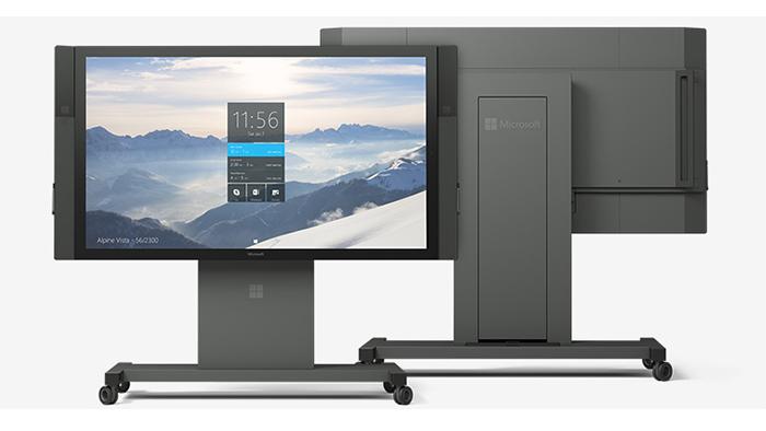 Imagen promocional del Surface Hub