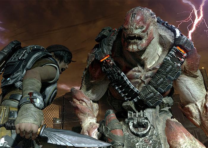 Imagen ingame del Gears of War 4