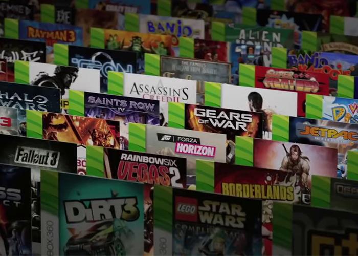 Carátulas de juegos de Xbox