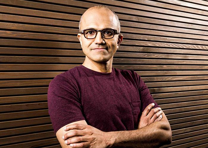 Fotografía de Satya Nadella, CEO de Microsoft