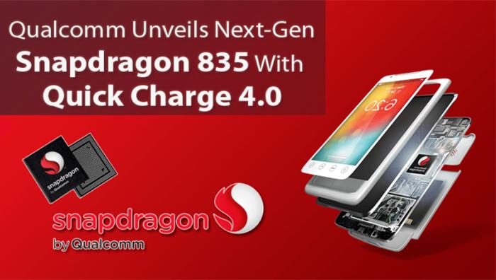 Imagen promocional del Snapdragon 835