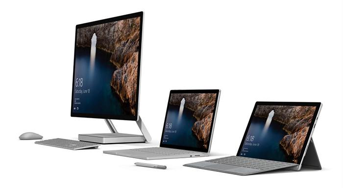 Familia de dispositivos Surface