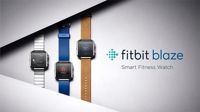 Imagen promocional de la Fitbit Blaze